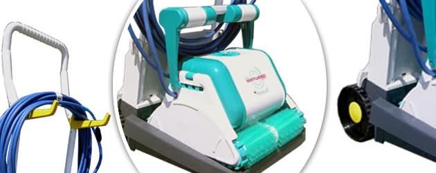 Robot piscine electrique Dolphin VIRTUOSO avec chariot - Dolphin VIRTUOSO, efficacité et rapidité
