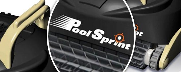 Robot piscine electrique Aquabot POOL SPRINT brosses picots - Le robot nettoyeur de piscine électrique Aquabot POOL SPRINT