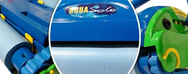 Robot piscine electrique Aquaproducts AQUA SOLO avec chariot - Le robot nettoyeur de piscine électrique Aquaproducts AQUA SOLO