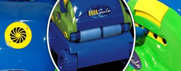 Robot piscine electrique Aquaproducts AQUA SOLO VERTIGO avec telecommande - Robot nettoyeur électrique Aquaproducts AQUA SOLO VERTIGO, innovant et robuste