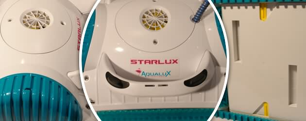 Robot piscine electrique Dolphin STARLUX brosses picots - Le robot piscine automatique STARLUX