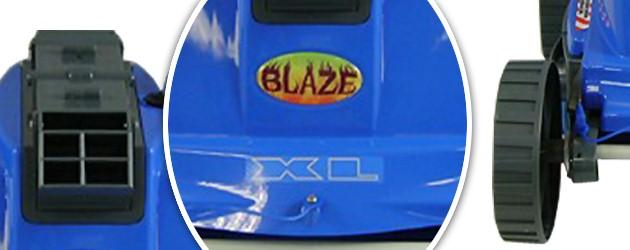 Robot piscine electrique POOL BLAZE XL filtration a 2 microns - Le robot nettoyeur de piscine électrique POOL BLAZE XL
