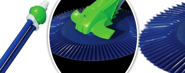 Robot piscine hydraulique Gre CLASSIC VAC a aspiration - Nettoyeur de piscine hydraulique GRE CLASSIC VAC