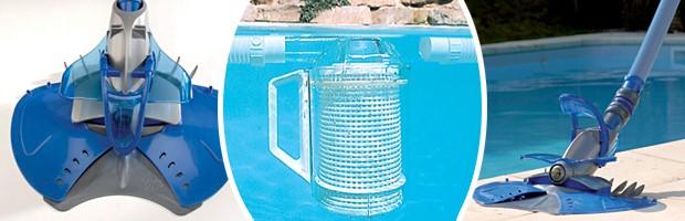 Robot piscine hydraulique Zodiac X7 QUATTRO avec piege a feuilles - Nettoyeur de piscine Zodiac X7 Quattro le concentré de technologies brevetées