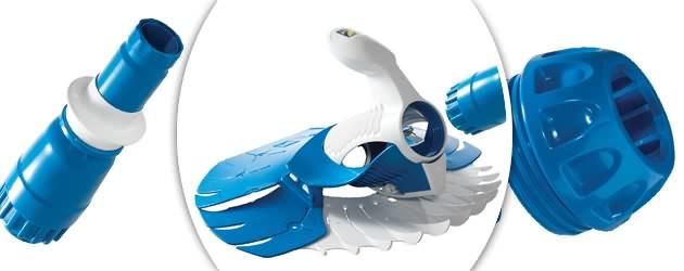 Robot piscine hydraulique Zodiac T5 DUO a aspiration - Nettoyeur de piscine Zodiac T5 DUO un concentré de technologies brevetées
