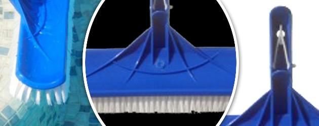 Tete de balai Swimways SPHERIQUE extra-large 41cm multi-usages pour piscine - Caractéristiques de la tête de balai SPHERIQUE 41cm