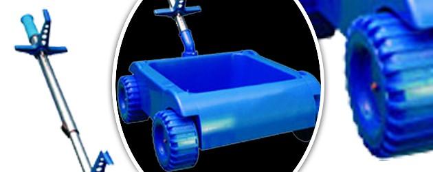 Chariot de transport Aquabot BUGGY pour robot piscine - Avantages du chariot de transport pour robot Aquabot