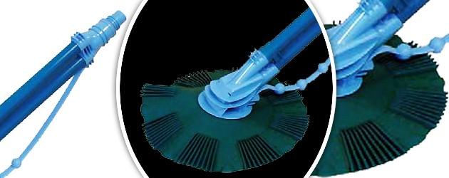 Robot piscine hydraulique hors-sol Edg PICCOLO a aspiration - EDG PICCOLO, le robot automatique pour piscine hors-sol