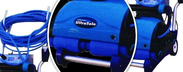 Robot piscine electrique Aquaproducts ULTRA SOLO avec chariot et telecommande - Le robot nettoyeur de piscine électrique Aquaproducts ULTRA SOLO