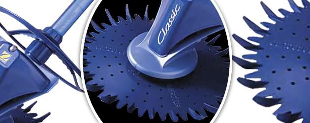 Robot piscine hydraulique Zodiac CLASSIC a aspiration - Nettoyeur hydraulique Zodiac CLASSIC à aspiration