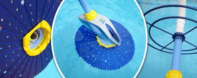 Robot piscine hydraulique Zodiac ZOOM a aspiration - Nettoyeur hydraulique Zodiac ZOOM à aspiration