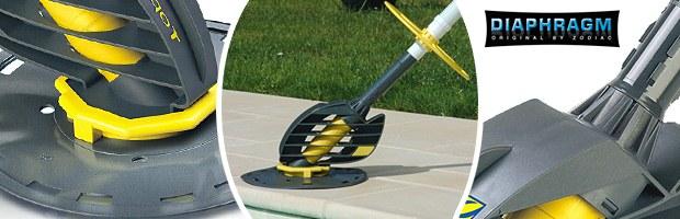 Robot piscine hydraulique Zodiac TOPAZE a aspiration - Nettoyeur hydraulique Zodiac TOPAZE à aspiration
