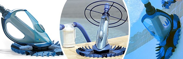 Robot piscine hydraulique Zodiac G4 a aspiration - Nettoyeur hydraulique Zodiac G4 à aspiration