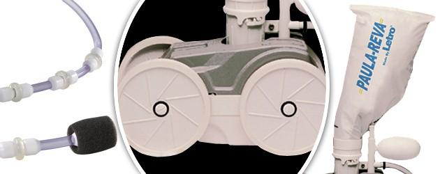 Pack robot hydraulique Letro PAULA REVA avec surpresseur 1.5cv mono et coffret - Le robot piscine hydraulique Letro PAULA REVA