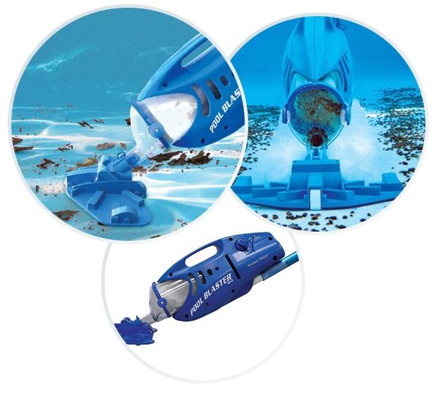 Aspirateur piscine Water Tech POOL BLASTER MAX CG electrique - Aspirateur piscine hors-sol et spa POOL BLASTER MAX CG un professionnel