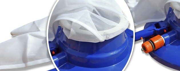 Kit aspirateur hydraulique manuel Pool Style LEAF MASTER a effet venturi - Présentation de l'aspirateur piscine hors-sol LEAF MASTER