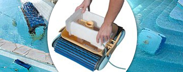 Robot piscine electrique PLANET a cartouches - Présentation du robot électrique PLANET avec cartouches