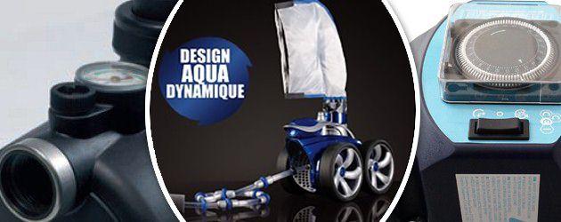 Robot piscine hydraulique Polaris 3900S avec surpresseur 1,5CV tri + coffret electrique - Robot piscine POLARIS 3900S avec surpresseur 1,5CV et coffret de commande