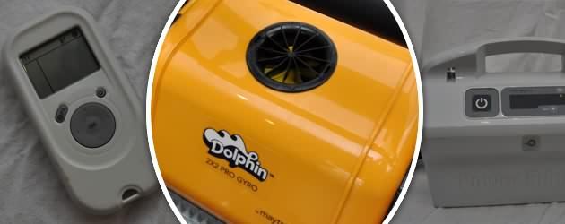Robot piscine electrique Dolphin 2x2 PRO GYRO brosses bi-matiere - Présentation du Dolphin 2X2 GYRO PRO