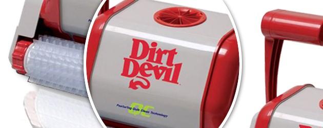 Robot piscine electrique Dirt Devil RAMPAGE QC brosses picots - Le robot nettoyeur de piscine électrique Dirt Devil RAMPAGE QC brosses picots