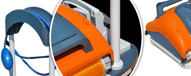 Chariot de stockage Dolphin DELUXE pour robot Dolphin SWASH - Avantages du chariot de stockage pour robot Aquabot