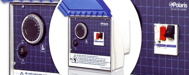 Coffret electrique de commande Polaris CONTROL monophase - Présentation du coffret de commande électrique CONTROL de Polaris
