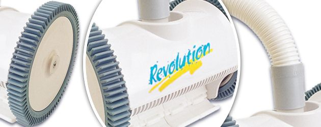 Robot piscine hydraulique Astral REVOLUTION a aspiration - Le robot piscine hydraulique REVOLUTION