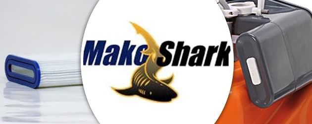 Robot piscine electrique professionnel Hayward MAKO SHARK 2 DC avec detecteur - Robot nettoyeur électrique MAKO SHARK 2 DC, innovant et robuste
