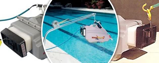 Robot piscine electrique professionnel Hayward KING SHARK 2 DC avec detecteur - Robot nettoyeur électrique KING SHARK 2 DC, innovant et robuste