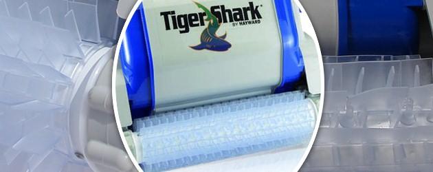 Brosse picots Hayward pour robot Tiger Shark - Brosse picots Hayward pour robots TIGER SHARK