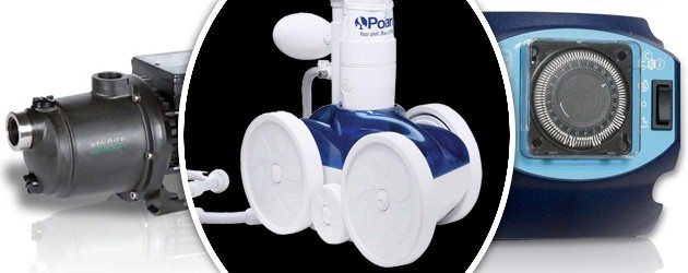 Pack robot hydraulique Polaris 280 avec surpresseur 1cv tri et coffret - Nettoyeur Polaris 280 avec surpresseur 1cv tri et coffret électrique de commande