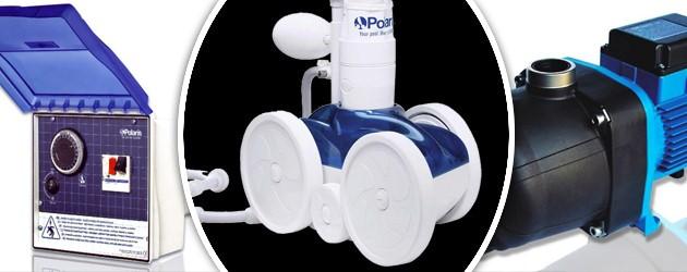 Pack complet Polaris 280 + surpresseur BP + coffret CONTROL - Robot piscine POLARIS 280 avec surpresseur BP 1cv mono et coffret de commande CONTROL