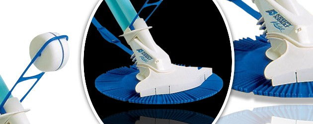 Robot piscine hydraulique Kreepy Krauly KADET a aspiration - Nettoyeur de piscine hydraulique Kreepy Krauly KADET
