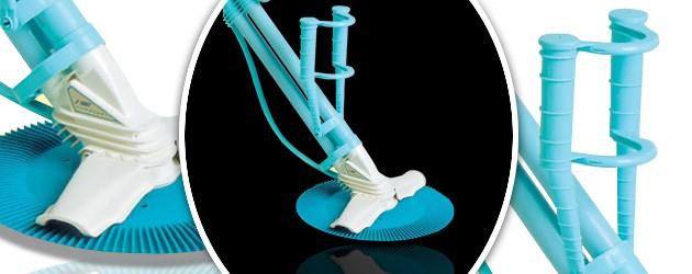 Robot piscine hydraulique Kreepy Krauly SUPER LUXE a aspiration - Nettoyeur de piscine hydraulique Kreepy Krauly SUPER LUXE