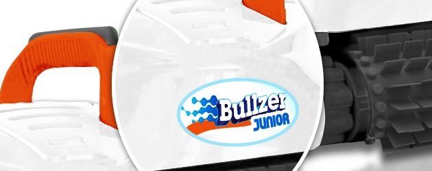 Robot piscine electrique BULLZER JUNIOR II brosses picots - Le robot piscine électrique BULLZER JUNIOR II