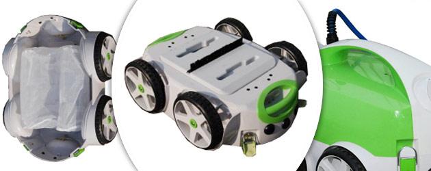 Robot piscine electrique WATER CLEAN SOL PRO avec telecommande - WATER CLEAN SOL PRO Nettoyeur automatisé et télécommandé
