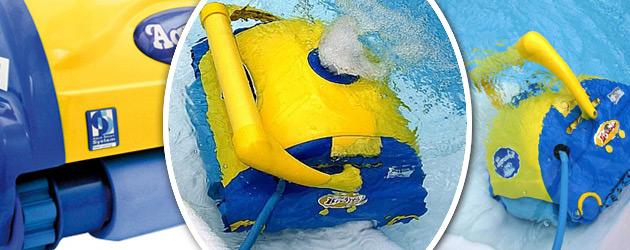 Robot piscine electrique Aquabot BRAVO PRO brosses PVA avec telecommande - Robot piscine Aquabot BRAVO PRO Précision et rapidité