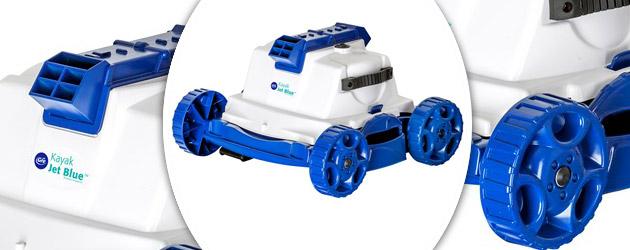 Robot piscine electrique Gre KAYAK JET BLUE pour piscine jusqu'a 60m² - Robot piscine électrique Gré KAYAK JET BLUE Simplicité et rapidité