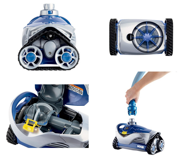 robot piscine zodiac mx6 navigation x drive achat vente robot zodiac pool. Black Bedroom Furniture Sets. Home Design Ideas