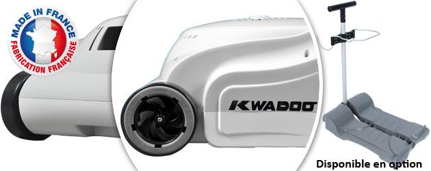 Robot piscine electrique WRC KWADOO sans chariot - Robot piscine électrique WRC KWADOO Qualité et made in France
