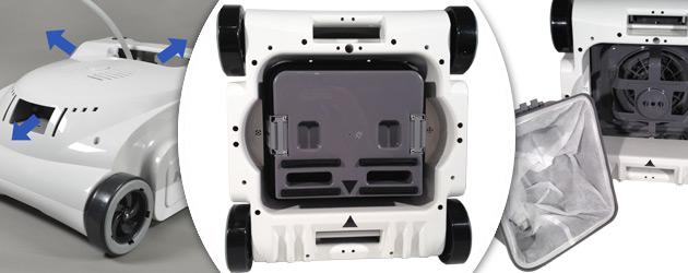 Robot piscine electrique KWADOO 2 Quadrijets - Robot piscine électrique KWADOO 2 Un concentré de haute technologie