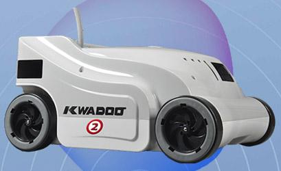 Robot piscine electrique KWADOO 2 Quadrijets - Robot piscine électrique KWADOO 2 Nettoyage méthodique durant toute l'année