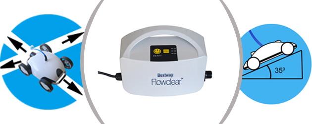 Robot piscine electrique Bestway FALCON - Robot piscine FALCON Bestway Innovation et précision