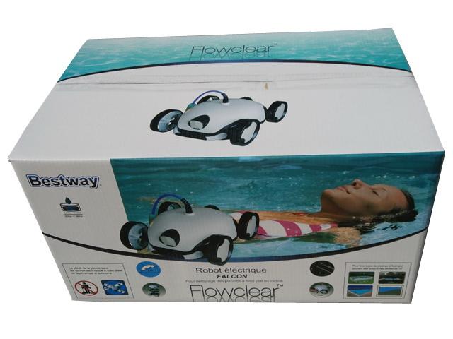 Robot piscine electrique Bestway FALCON - Avantages du robot piscine Bestway FALCON