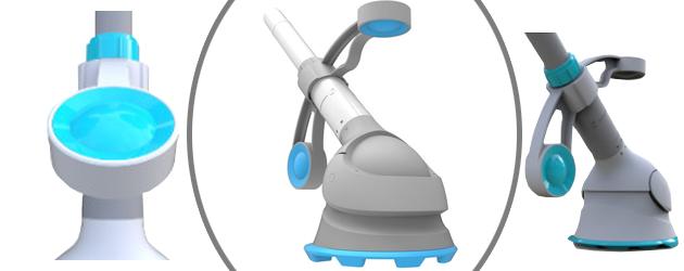 Robot piscine hydraulique hors-sol a aspiration KRILL Kokido - Robot piscine hydraulique KRILL Kokido simple et efficace