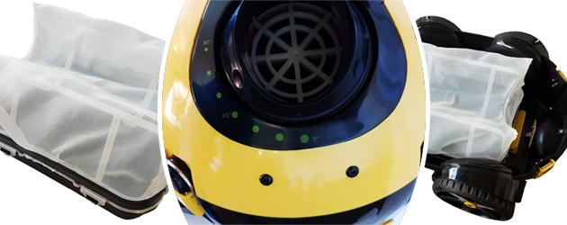 Robot piscine electrique Bestway NAIA Flowclear - Le robot nettoyeur de piscine électrique Bestway NAIA Flowclear