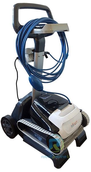 Robot piscine electrique Dolphin POOLSTYLE ADVANCED avec chariot - Chariot pour robot piscine électrique Dolphin POOLSTYLE