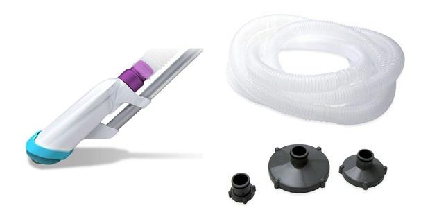 Kit aspirateur piscine hors-sol Kokido B-VAC avec prefiltre - Kokido B-VAC l'aspirateur pour piscine hors-sol