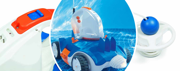 Robot nettoyeur piscine automatique sans fil Bestway AQUATRONIX - Robot nettoyeur piscine automatique Bestway AQUATRONIX Autonome et efficace