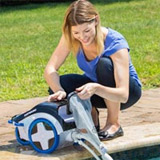 Robot nettoyeur a pression piscine TRIVAC 500 Hayward - Robot nettoyeur à pression piscine TRIVAC 500 Hayward un nettoyage ultra efficace